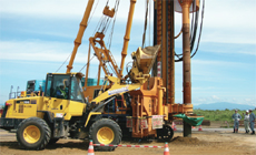 建設機械に係る騒音・振動・大気質調査