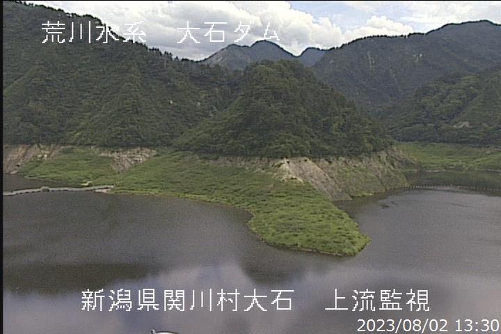 大石ダム上流ライブカメラ(新潟県関川村大石) | ライブカメラDB