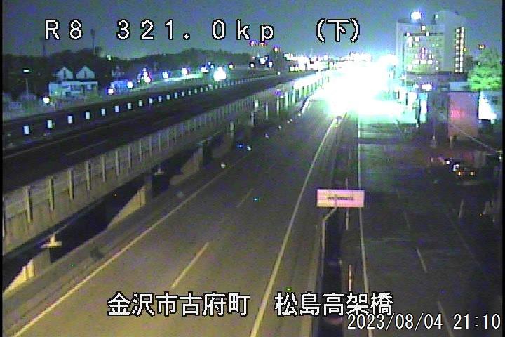 国道8号 松島(下り:福井方面)
